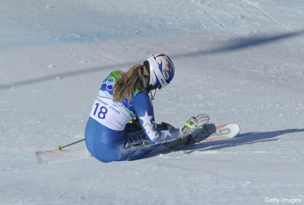At low point, Lindsey Vonn takes the high road