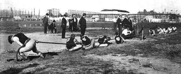 Great Olympic Events of Yore: Tug of war