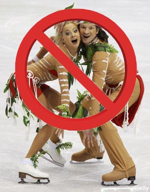 Ice dancing is beautiful, but it shouldn't be an Olympic sport
