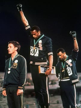 'Black-power salute' gold medal is for sale