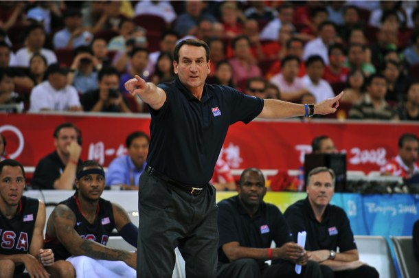 U.S.A.-Germany: Coach K should be letting everybody play today