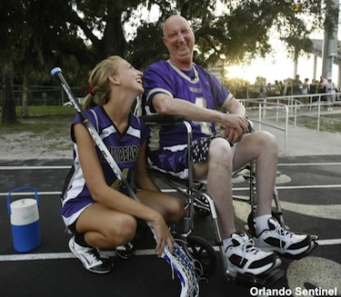 Special lacrosse game grants a Florida Dad his dying wish