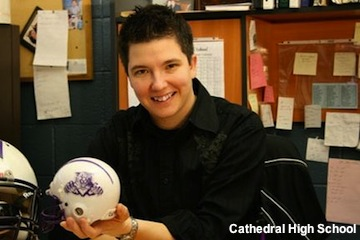 Lesbian Catholic school AD forced out of job after marriage