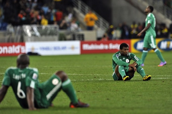 Nigeria suspends national team for poor World Cup