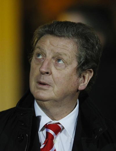 Roy Hodgson looks to the heavens, sees only black