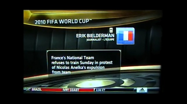 ESPN airs uncensored sweary French journalist...twice