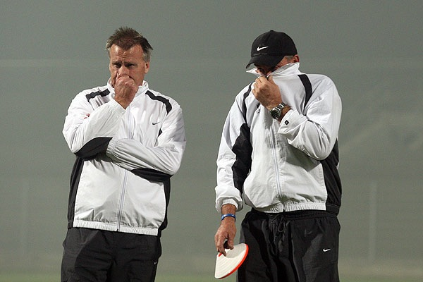 New Zealand's first South African training session was smelly