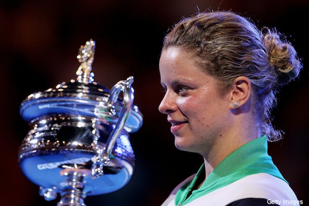 Clijsters comes back against Li Na, captures first Australian Open