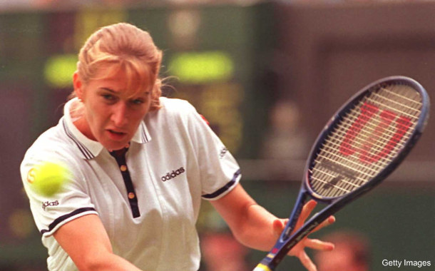 Steffi Graf turns the big 4-0