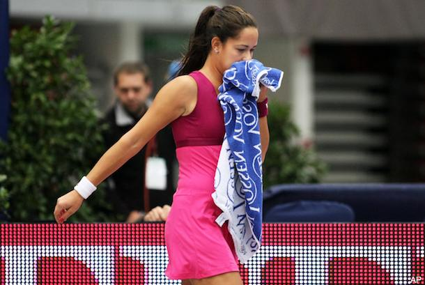 Ana Ivanovic loses game because of long bathroom break