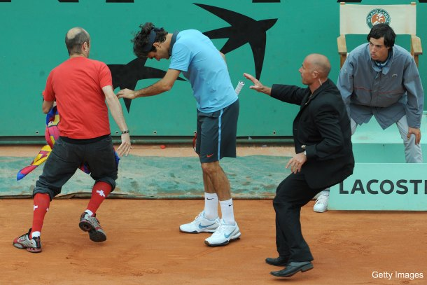 After Seles, how are fans still able to rush the tennis court?