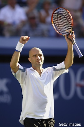 Agassi to be inducted into Tennis Hall of Fame