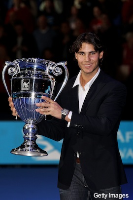 Nadal snaps Federer's run of ATP sportsmanship awards