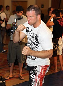 Matt Hamill returns to the Octagon after having lost his last two fights. (Getty)