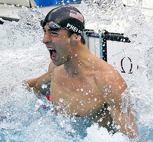 Phelps a study in physical, mental toughness
