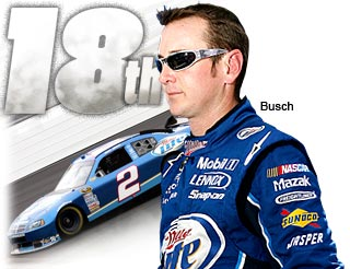 Top 20 countdown: No. 18 Kurt Busch