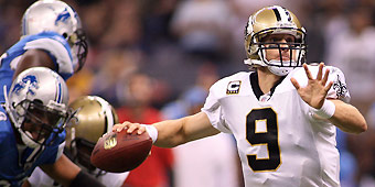 Brees picks up where he left off in '08