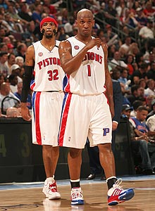 Chauncey Billups in his glory days as a Piston. (Y! Sports)
