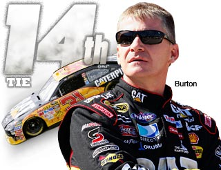 Top 20 Countdown: T-No. 14 Jeff Burton