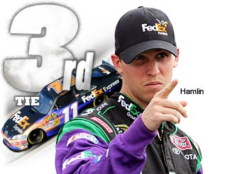 Top 20 Countdown: T-No. 3 Denny Hamlin