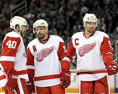 Zetterberg takes over the 'C' from Nicklas Lidstrom, who inherited it from Steve Yzerman. (Getty)