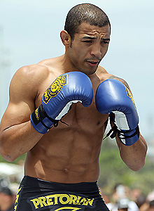 Jose Aldo Jr. was unable to recover from his motorcycle accident injuries. (AP)