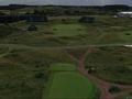Flyover Royal Birkdale Golf Club Hole No. 14