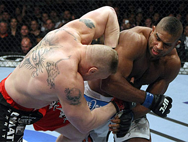 Alistair Overeem KO'd Brock Lesnar in his last UFC fight. (Getty)