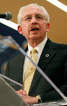 SEC commissioner Mike Slive is leading the charge to a potential college football playoff.