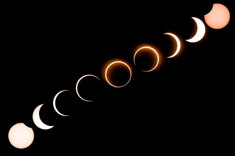 Ring of fire eclipse wows across Asia