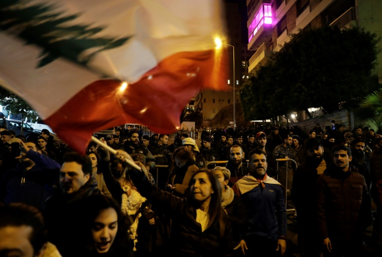 Lebanese protest at new PMs home, demand he quits