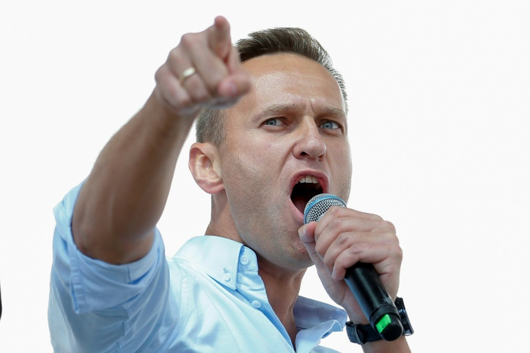 Russian opposition leader Navalny arrested ahead of protest
