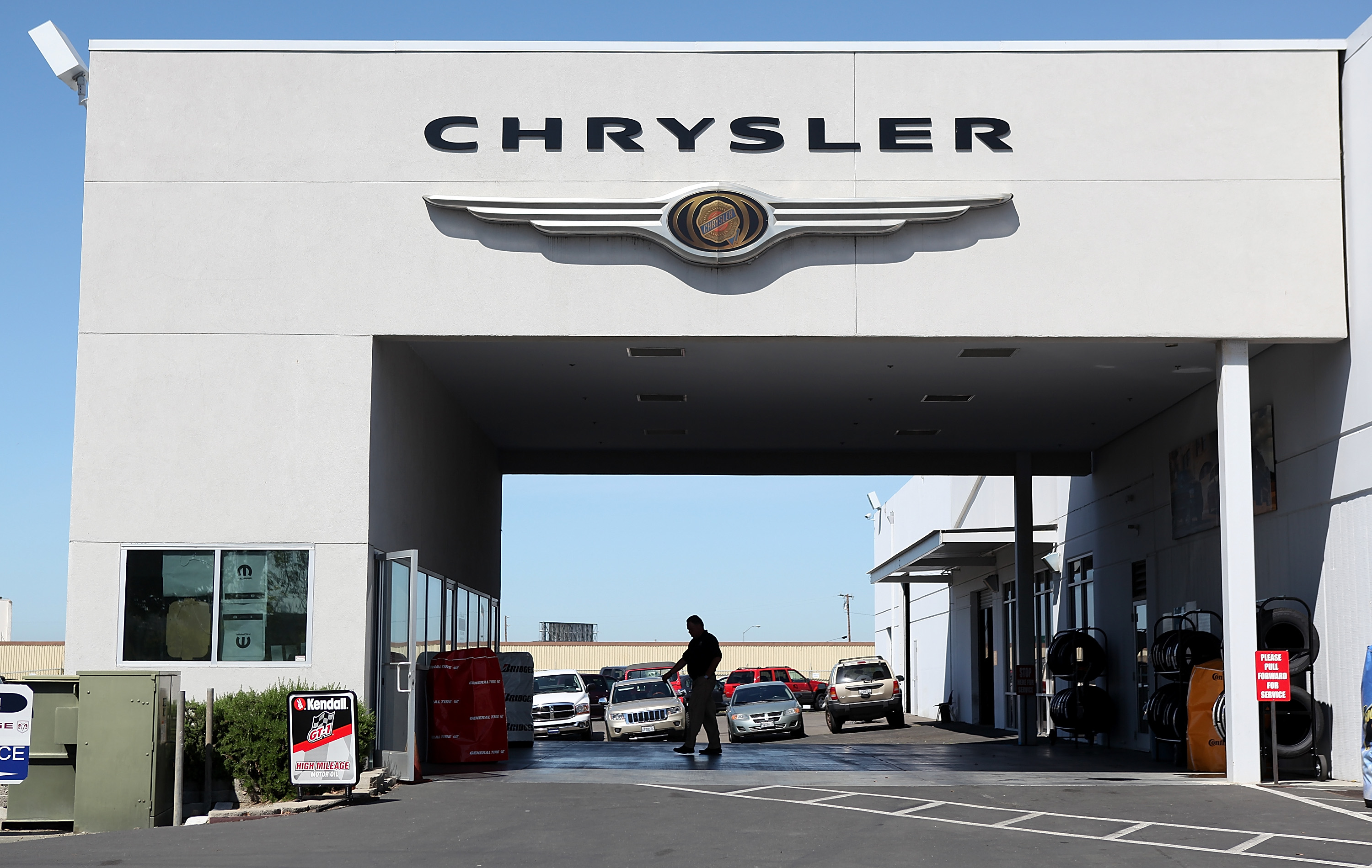 A Chrysler dealership on May 2, 2011 in Vallejo, California
