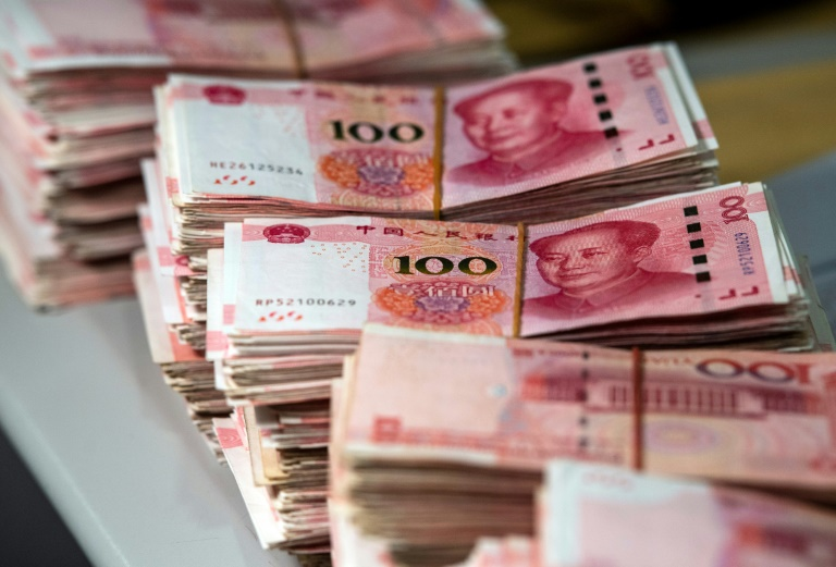 Chinese currency steadies after turbulent trading