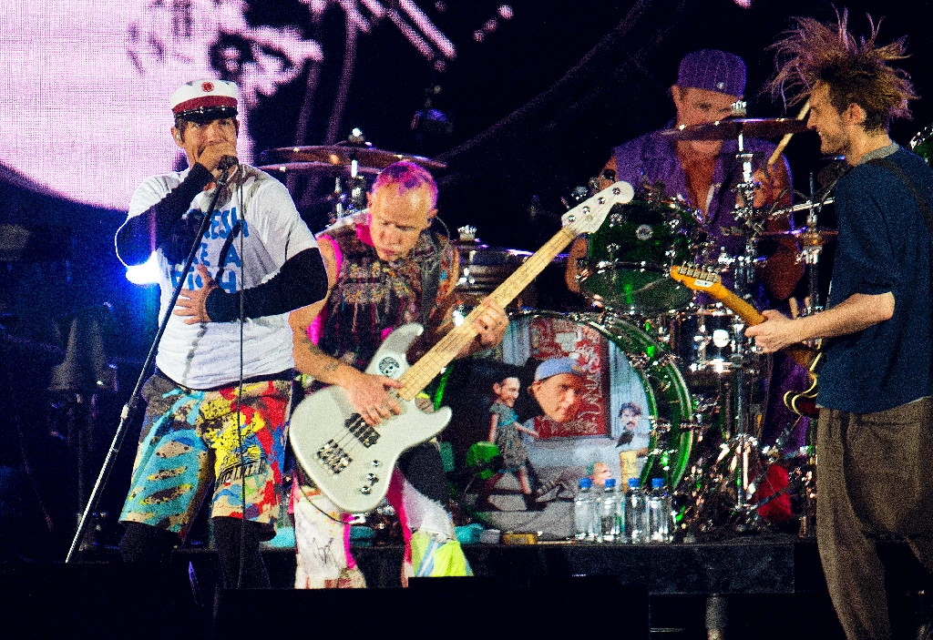Red Hot Chili Peppers to head new Lollapalooza Paris