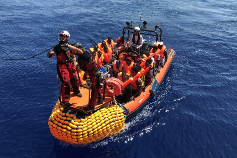 Over 350 migrants onboard charity ship after new rescue in Med