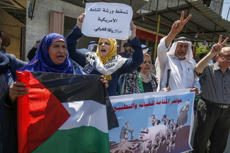Nine in ten Palestinians distrust US economic plan: poll