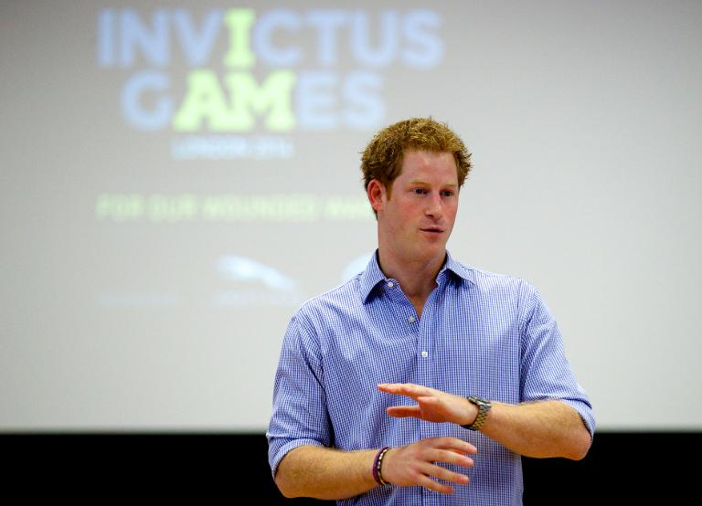 Britain's Prince Harry voices hatred of Twitter