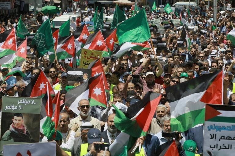US peace plan rings alarm bells in Jordan: analysts