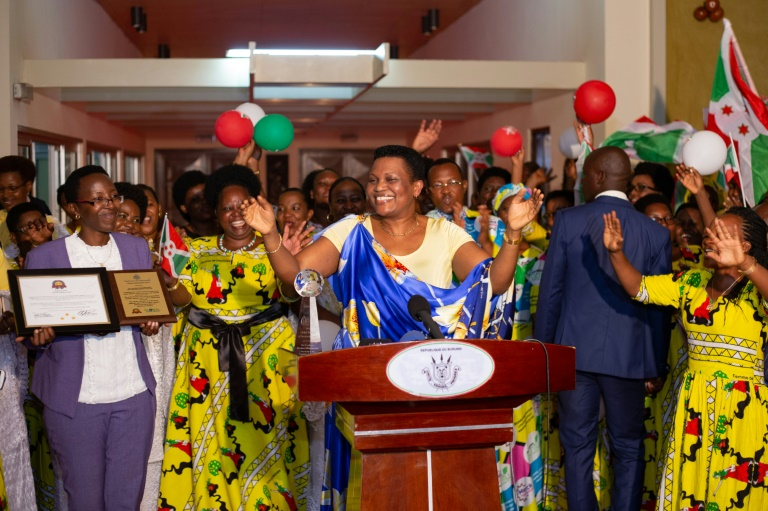 Burundi first lady hospitalised in Nairobi: government sources