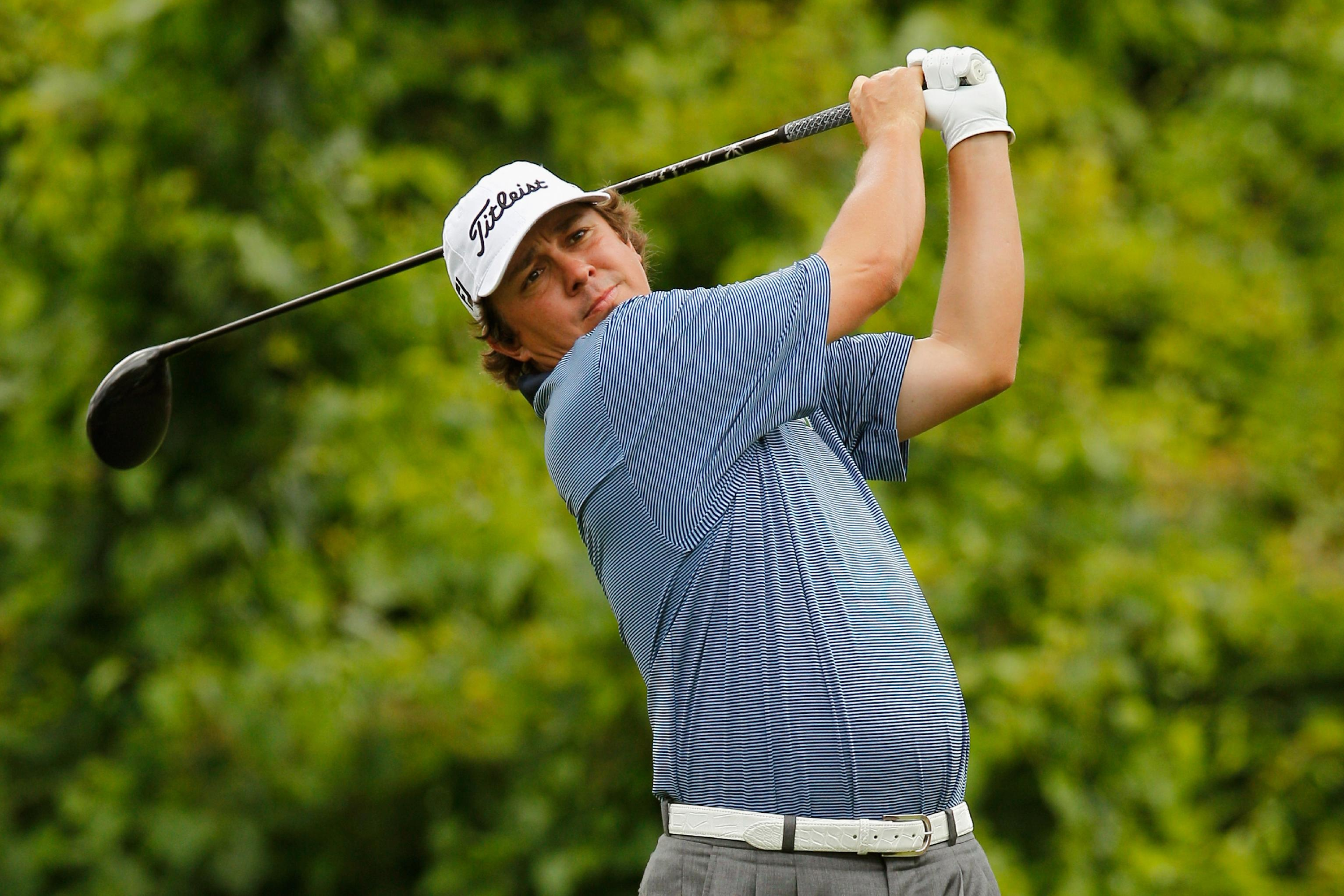 Jason Dufner earned his first PGA Tour victory at the Zurich Classic. (AFP)