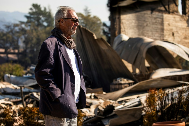 I lost my whole life: California fire victim returns to devastation
