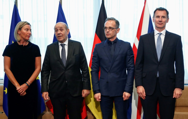 EU, France, Germany and UK urge Iran to reverse uranium decision
