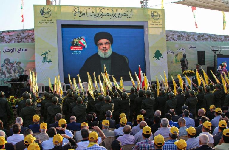Hezbollah chief denounces Beirut drone attack