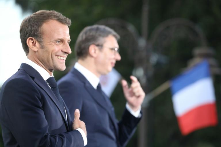 Macron vows to help restart Serbia-Kosovo dialogue