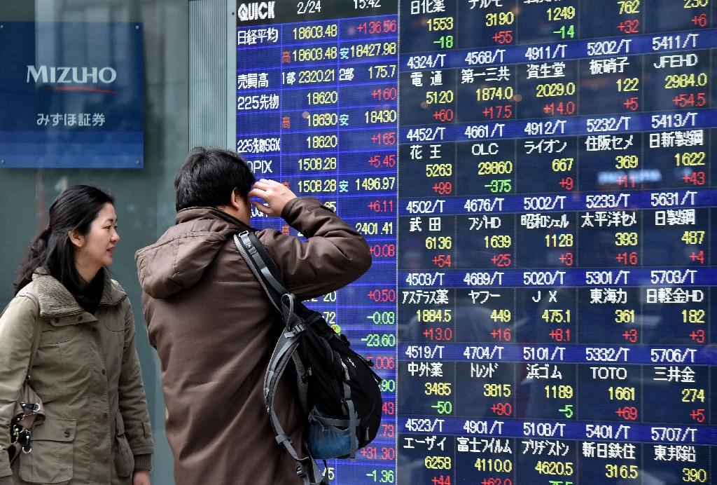 Asian markets follow Wall St lower after US data
