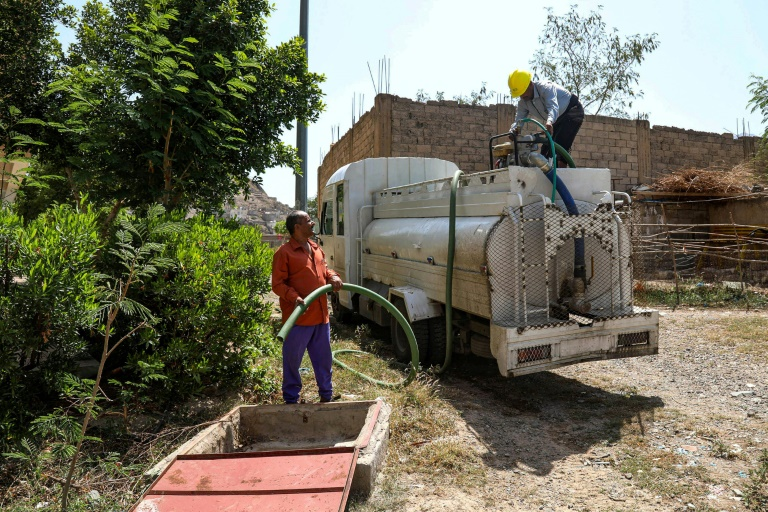 Yemen upcycles shot-up buses to ease water shortage