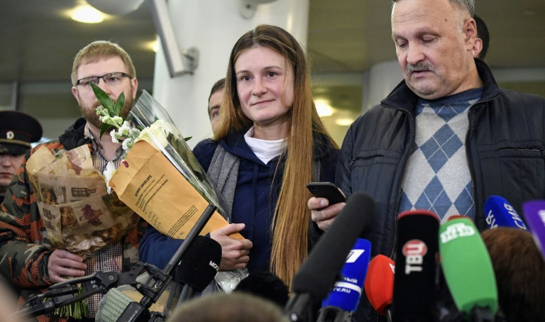 Russians dont surrender: agent Maria Butina arrives in Moscow