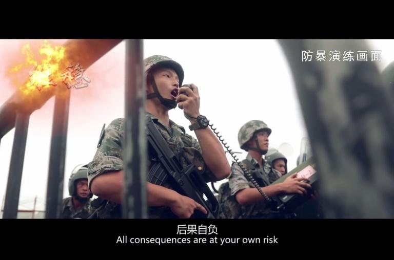 Trump takes back seat as China bristles over Hong Kong unrest