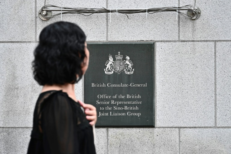 Britain concerned by reports HK consulate employee detained in China